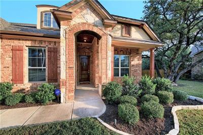 Round Rock Single Family Home For Sale: 3837 Skyview Way