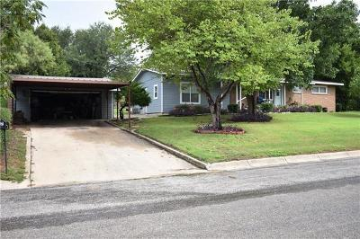 Lampasas Single Family Home For Sale: 7 Sue Ann Dr