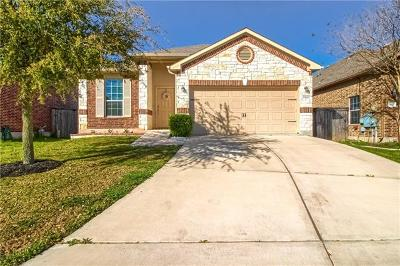 Manor Single Family Home For Sale: 13804 Fallsprings Way