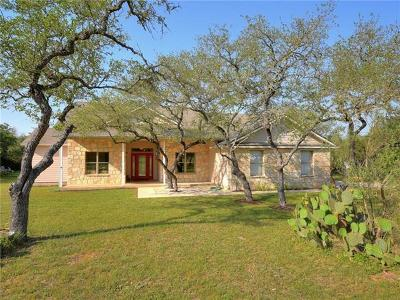 Hays County Single Family Home Pending - Taking Backups: 421 Canyon Gap Rd