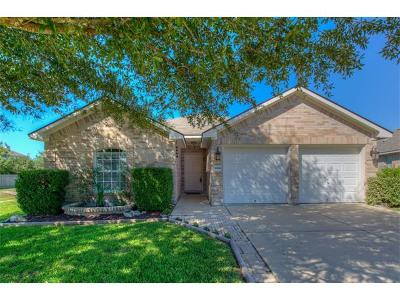 Pflugerville Single Family Home Pending - Taking Backups: 18016 Newgrange Dr