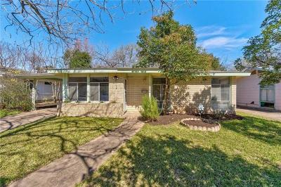 Austin Single Family Home For Sale: 1902 Forest Hill Dr