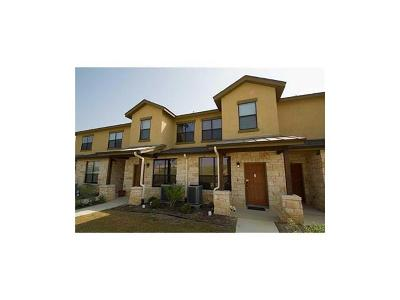 Round Rock Condo/Townhouse For Sale: 2101 Town Centre Dr #2006