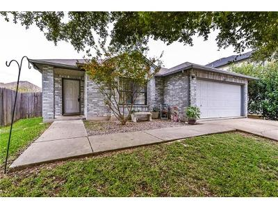Round Rock Single Family Home Pending - Taking Backups: 1205 Champion Dr