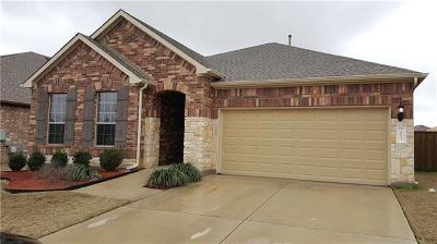 Pflugerville Single Family Home For Sale: 20013 Wearyall Hill Ln