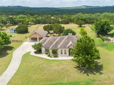 Dripping Springs Single Family Home For Sale: 1213 Oak Meadow Dr