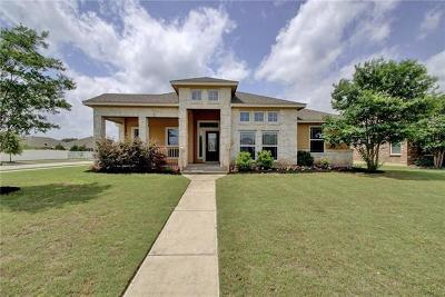 Pflugerville Single Family Home For Sale: 821 Walnut Canyon Blvd