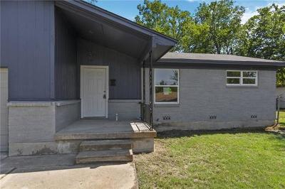 Killeen Single Family Home For Sale: 1308 Connell Dr
