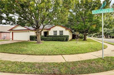 Cedar Park Single Family Home For Sale: 1509 Julianas Way