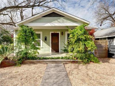 Austin Single Family Home Pending - Taking Backups: 1806 Nickerson St