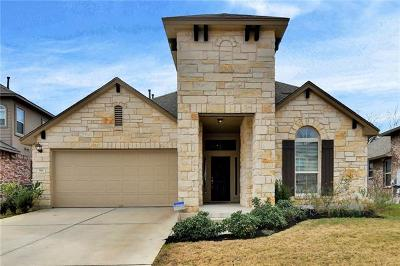 Round Rock Single Family Home For Sale: 816 Palo Duro Loop