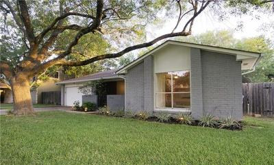 Travis County, Williamson County Single Family Home For Sale: 11235 Henge Dr