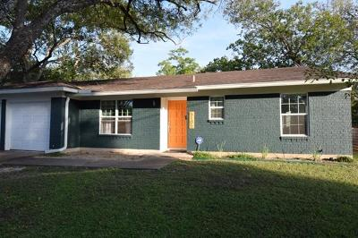Austin Single Family Home For Sale: 5105 Marymount Dr