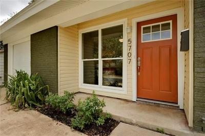 Austin Single Family Home For Sale: 5707 Cedardale Dr