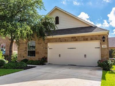 Round Rock Single Family Home For Sale: 3451 Mayfield Ranch Blvd #304