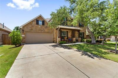 Round Rock Single Family Home For Sale: 3709 Hermann St