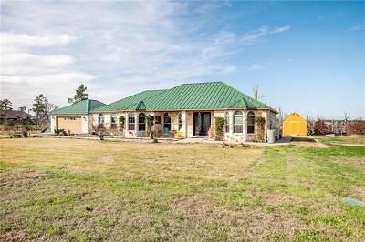 Bastrop Single Family Home For Sale: 258 McAllister Rd