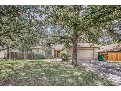 Travis County, Williamson County Single Family Home For Sale: 401 Ridgewood Dr