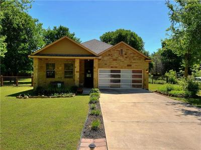 Bastrop Single Family Home For Sale: 1263 Lovers Ln