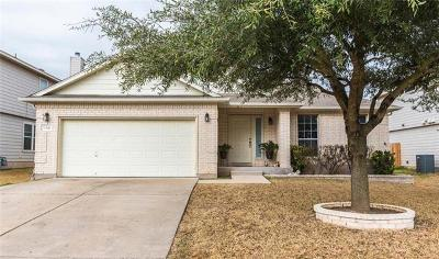 Hutto Single Family Home For Sale: 1306 Knippa Cv