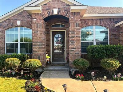 Pflugerville Single Family Home For Sale: 1449 Faber Dr