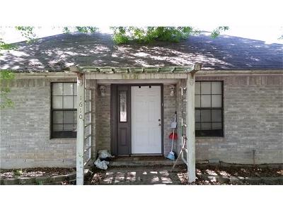 San Marcos Single Family Home Pending - Taking Backups: 1610 Mockingbird