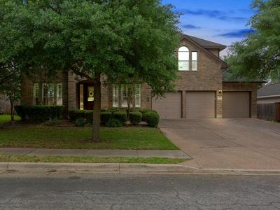 Round Rock Single Family Home For Sale: 1309 Hillridge Dr