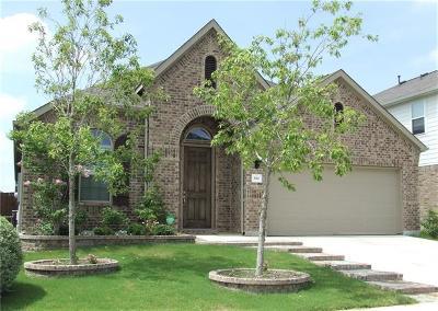 Buda Single Family Home For Sale: 614 Vista Garden Dr