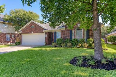 Round Rock Single Family Home Pending - Taking Backups: 4118 Moss Hollow Dr