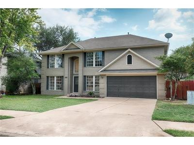 Cedar Park Single Family Home For Sale: 1220 Elm Forest Dr