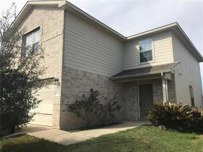 Manor Single Family Home For Sale: 13008 Wedding
