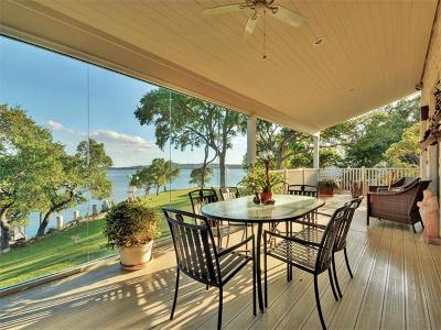 Lake Travis 02, Lake Travis 03, Lake Travis 05, Lake Travis 06, Lake Travis 06 Rep Of Lt 09, Lake Travis 09, Lake Travis 01, Lake Travis 04, Lake Travis 07, Lake Travis Subd. #5, Lot #16a Single Family Home For Sale: 7304 Reed Dr