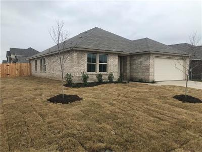 Hutto Single Family Home For Sale: 100 Helen