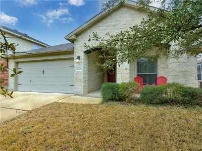 Pflugerville Single Family Home Pending - Taking Backups: 18605 Silent Water Way