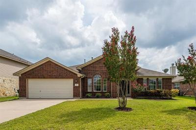 Pflugerville Single Family Home Pending - Taking Backups: 701 Stokesay Castle Path