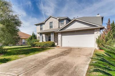 Pflugerville Single Family Home For Sale: 1402 Amber Day Dr
