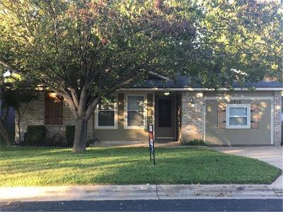 Single Family Home For Sale: 11915 Tobler Trl E