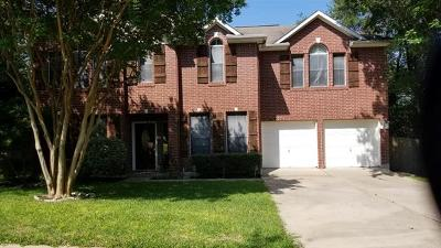 Leander Single Family Home Pending - Taking Backups: 1911 Holly Hill Dr