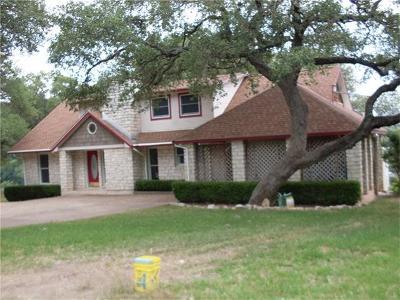 Jonestown Single Family Home Pending - Taking Backups: 18009 Lafayette Park Rd
