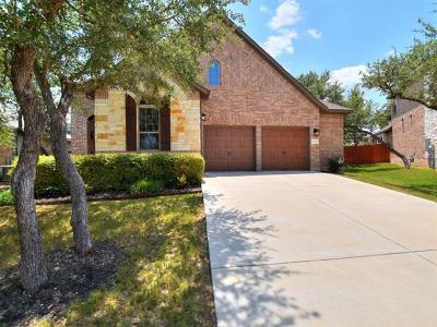 Cedar Park Single Family Home For Sale: 2302 Parksville Way