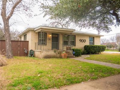 Austin Single Family Home Pending - Taking Backups: 900 Payne Ave