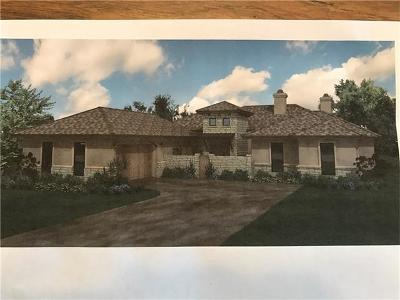 Burnet County Single Family Home For Sale: 101 Honey Rock Blvd Blvd