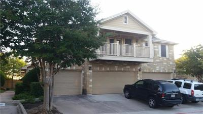 Round Rock Condo/Townhouse For Sale: 16100 Great Oaks Dr #3901