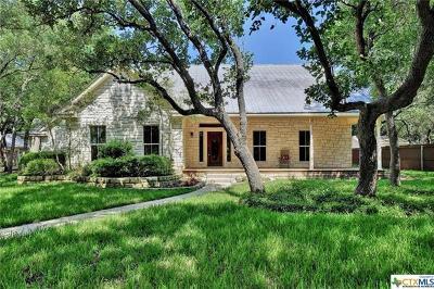 Salado Single Family Home For Sale: 1000 Salado Oaks Dr
