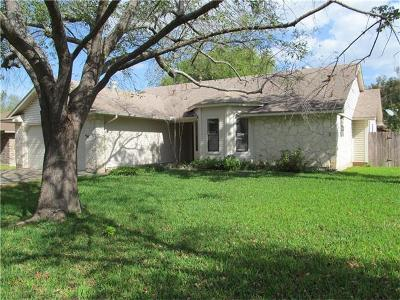 Round Rock Single Family Home Pending - Taking Backups: 2301 Oxford Blvd
