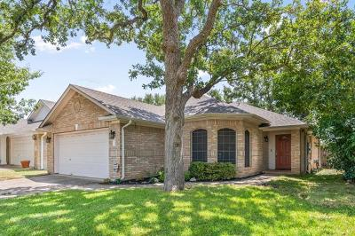 Cedar Park Single Family Home Pending - Taking Backups: 2316 Clover Ridge Dr