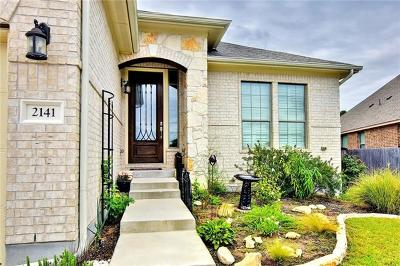 Leander Single Family Home For Sale: 2141 Granite Hill Dr