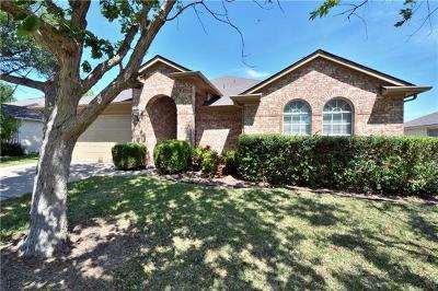Round Rock Single Family Home For Sale: 1412 Quicksilver Cir