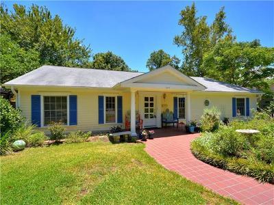 Austin Single Family Home Pending - Taking Backups: 6107 Bull Creek Rd