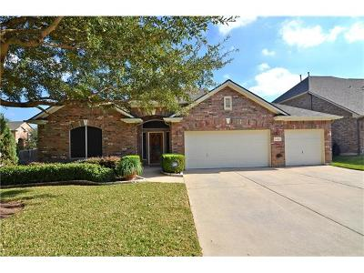 Round Rock Single Family Home For Sale: 3401 Lazy Oak Cv